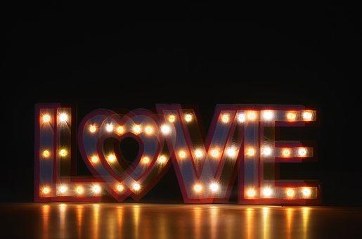 Multiple Exposure, Love, Valentine's Day, Romance