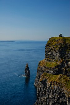 Cliffs, Ireland, Sea, Costa, Nature, Landscape, Water