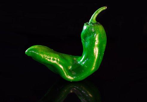 Paprika, Green, Vegetables, Pepper, Food, Sweet Peppers