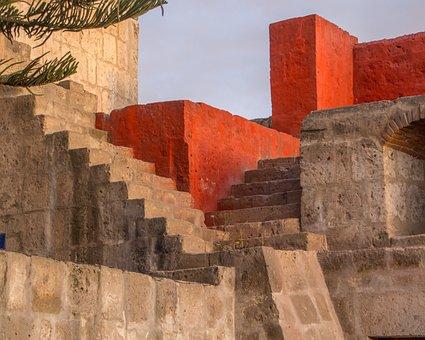 Peru, Arequipa, Architecture, Cathedral