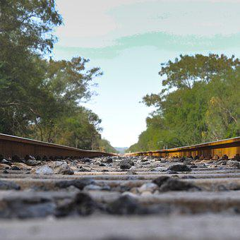 Train, Vias, Field, Railway, Transport, Rails, Travel