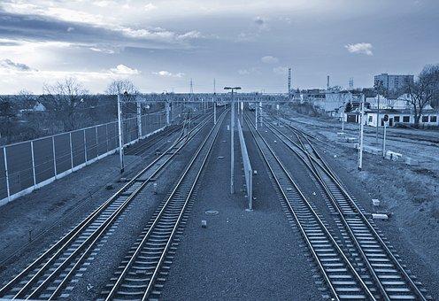 Railway Line, Railroad, Transport, Train