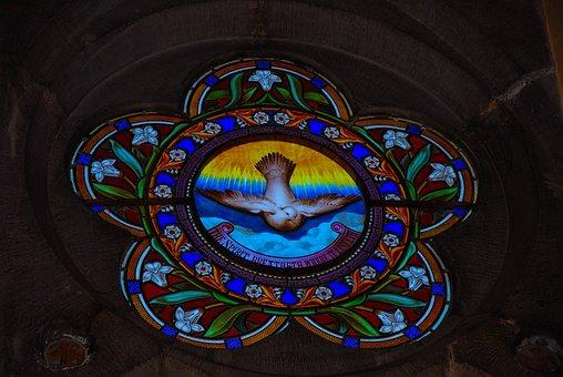 Ireland, Church, Rose Window, Abbey, Historian
