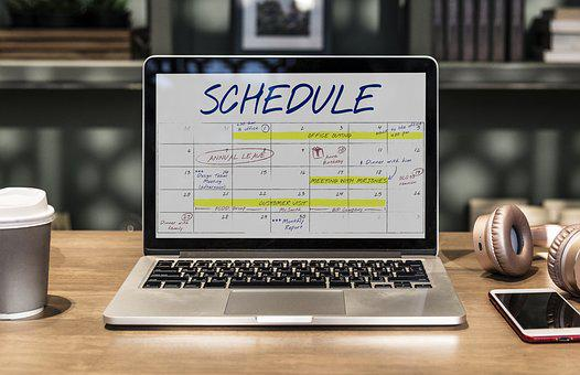 Schedule, Events, Agenda, Appointment, Calendar