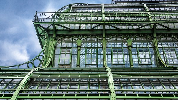 Architecture, Steel, Glass, Palm House, Greenhouse