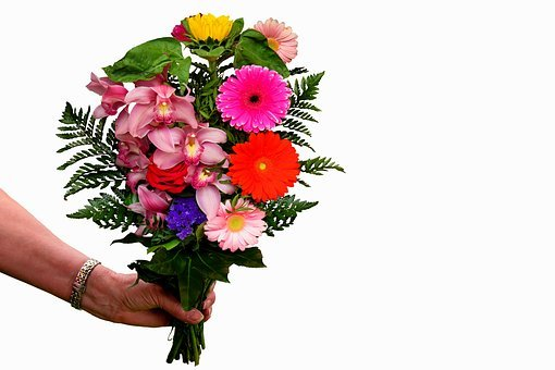 Flowers, Bouquet, Thank You, Thank You Very Much