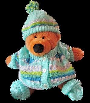 Teddy, Bear, Toy, Baby, Cute