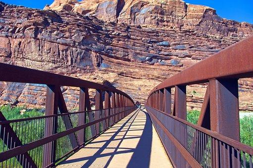 Colorado Riverway Bridge, Colorado, River, Bridge, Utah