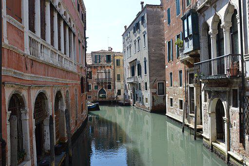 Venice, Bridge, Sighs, Italy, Channel, Water