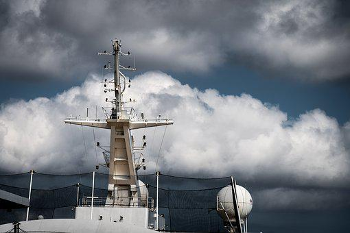 Ship, Sky, Ocean, Cruise, Sea, Boat, Water, Blue, Sail