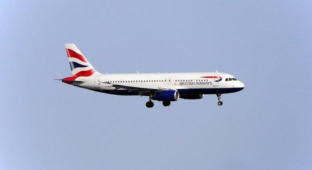 Flyer, Aircraft, Landing, Airliner, British Airways