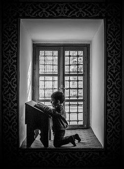 Child, Baby, Tiny, Prayer, Quran, Holy, Mosque, Pew