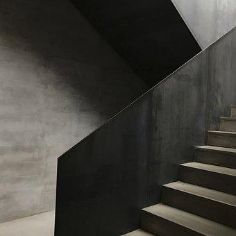 Architecture, Building, Dark, Depression, Design, Exit