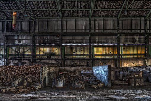 Lost Places, Warehouse, Decay, Break Up, Abandoned