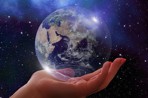 Globe, Earth, Europe, Asia, Africa, World, Hand, Keep