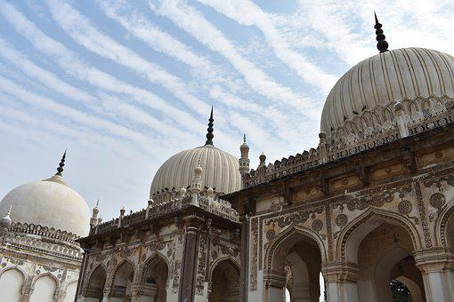 Qutb Shahi Tombs, Hyderabad, India, Asia, Travel, Tombs