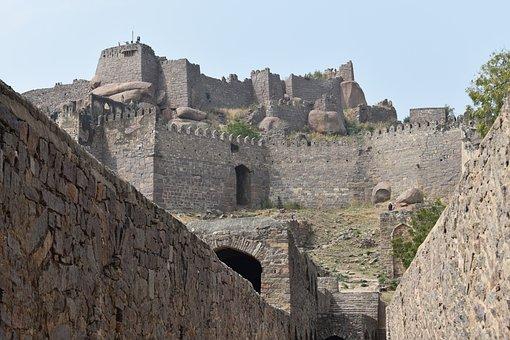 Golconda Fort, Hyderabad, India, Asia, Travel, Nikon