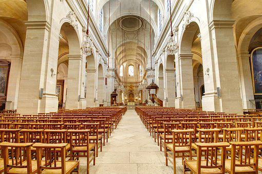 Cathedral, Church, Pray, Religion, Interior, Chapel