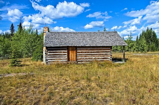 Mccarthy Homestead Cabin, Log, Cabin