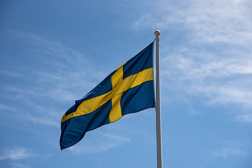 Swedish Flag, Sweden, Blue-and-yellow, National Day