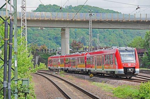 Regional Train, Rail- Cars, Railway, Rail Traffic