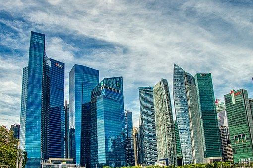 Singapore, Skyscrapers, City, The Skyscraper, Modern