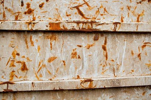 Grunge, Dumpster, Rust, Wallpaper, Paint