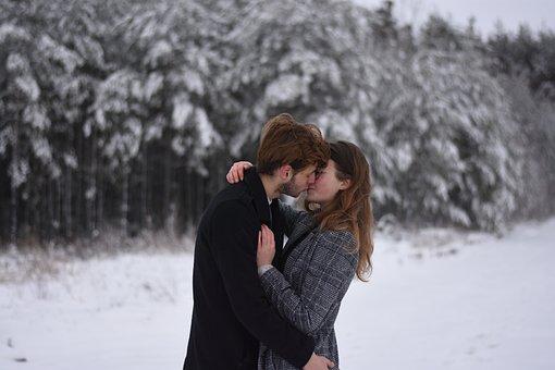 Couple, Portrait, Love, Woman, Happy, Happiness