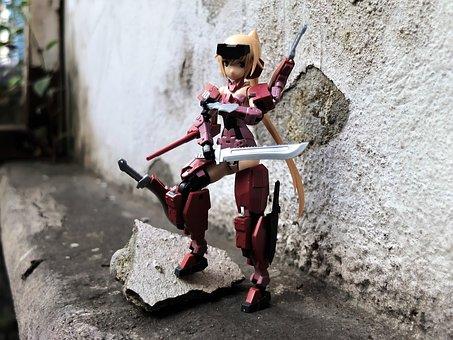 Toy, Figurine, Action, Figure, Kotobukiya, Model, Kit