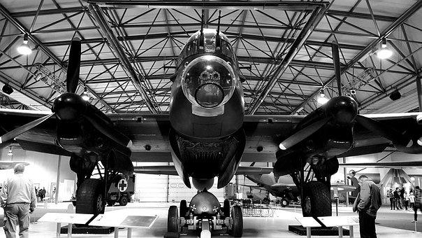Lancaster, Bomber, Museum, Aircraft, Ww2, Heritage
