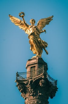 Mexico, Monument, Angel, Mexican, Architecture
