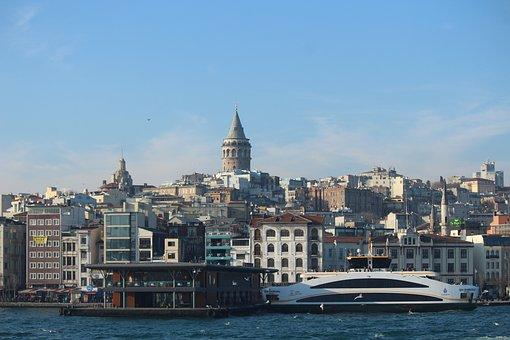 Galata, Karaköy, Eminönü, Galata Tower, Arsenal