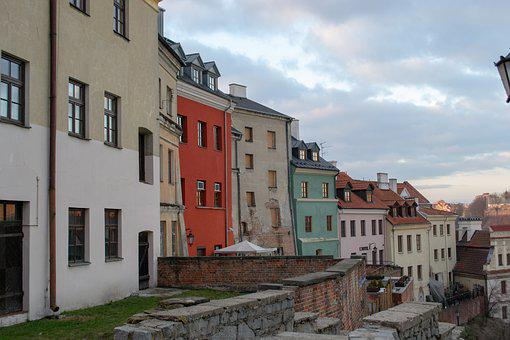 Lublin, Houses, Color, Old Town, Itinerary, At Home