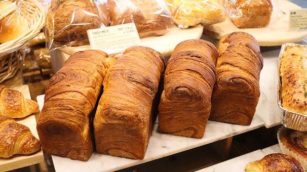 Bread, Plain Bread, Bakery, Baggette, Tous Les Jours