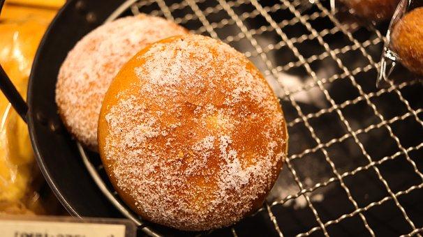 Bread, Sugar, Sweet, Donut, Bakery, Bunuelos, Doughnut
