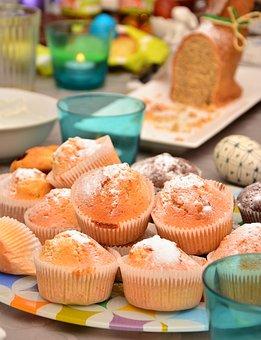 Muffins, Cake, Celebration, Cupcake, Bake, Sweet