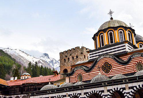 Rila, Rila Monastery, Christianity, Cross, Peak
