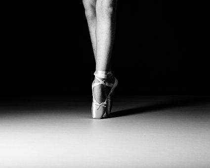 Ballet, Dancer, En Pointe, Dance, Ballerina, Girl