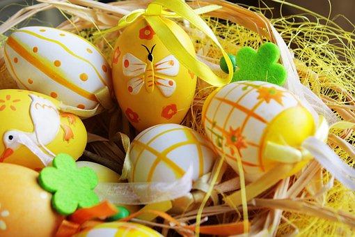 Easter Egg, Easter, Egg, Decoration, Easter Greeting