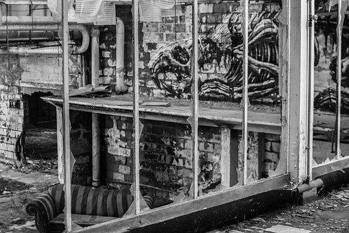 Urbex, Leave, Graffiti, Expiration, Lostplace, Vintage
