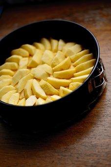 Apple Pie, Bake, Cake, Food, Delicious, Eat, Kitchen