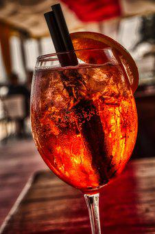 Drink, The Tropical, Aperol, Fresh, Citrus, Ice