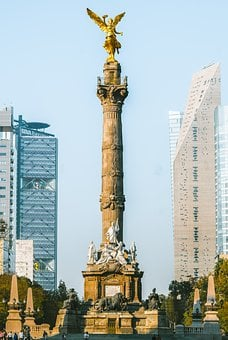 Mexico, Cdmx, City, Monument, Df, Independence, Angel