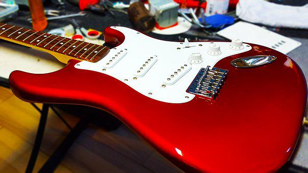 Guitar Electrica, Luthier Guitar, Music, Instrument
