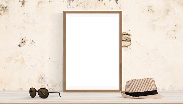 Poster, Frame, Mock Up, Mockup, Template, Interior
