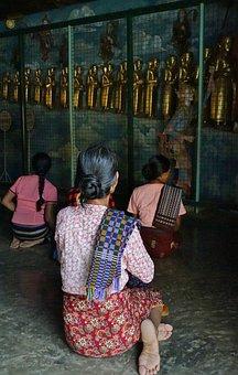 Life Of Buddha, Temple, Pagoda, Myanmar, Spirituality