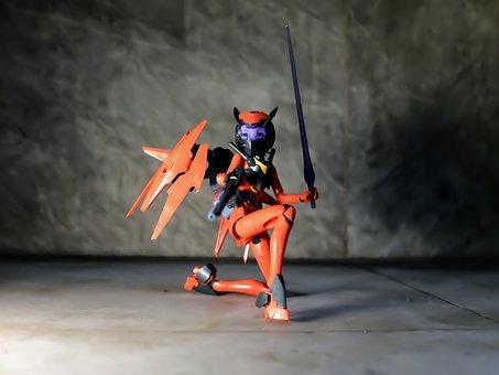 Lady, Female, Toy, Action, Figure, Kotobukiya, Model