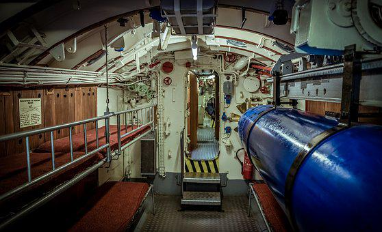 U Boat, Interior, Concerns, Beds, Torpedo, Passage