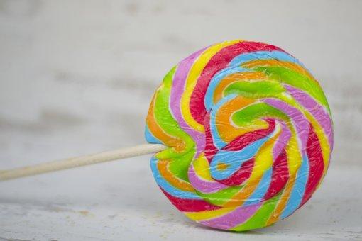 Candy, Pirouette, Piruleta, Dessert, Sugar, Red