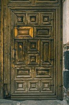 Door, Antique, Vintage, Old, Wood, Rusty, Entrance